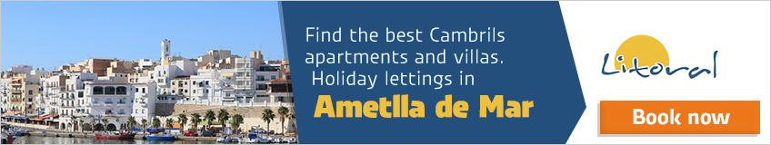 apartments to rent ametlla de mar