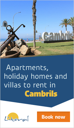 holiday apartments to rent Cambrils