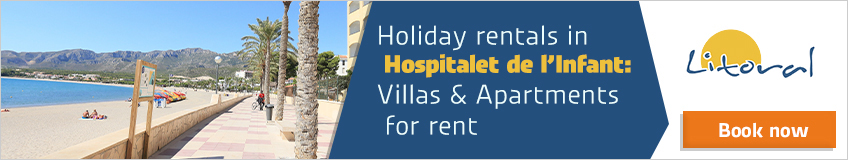 holiday apartments to rent hospitalet del infant