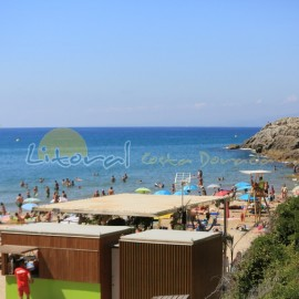 Cala Crancs beach
