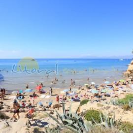 Cala Penya tallada, beach in Salou