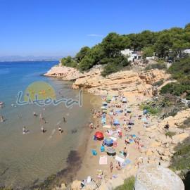 Salou beach: Cala Penya Tallada