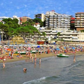 Salou beach, Capellans in Salou centre