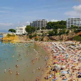 Capellans beach, Salou
