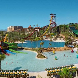 Costa Caribe park in Salou