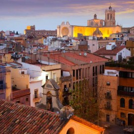 Vista panorámica de la Catedral de Tarragona