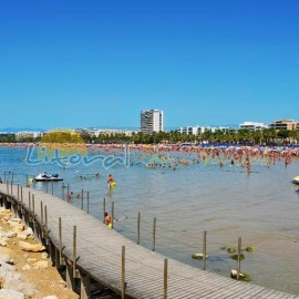 Salou centre main Beach, Playa de Levante