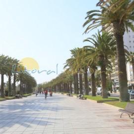 Salou centre, main promenade Jaime I